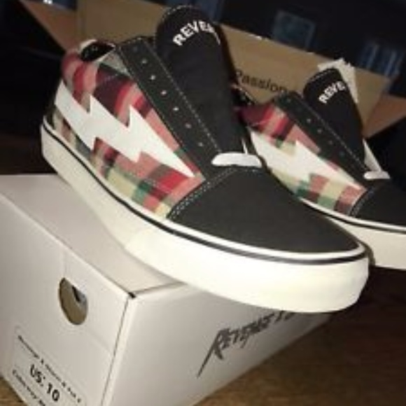 de7cd2753fb Ian Connor Revenge X Storm Lightning Bolt Vans